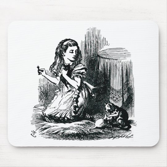 Alice & the Kittens Mouse Pad