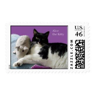 Alice the Kitty U S Postage Stamp