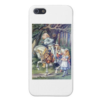Alice & the Knight Color Cover For iPhone SE/5/5s