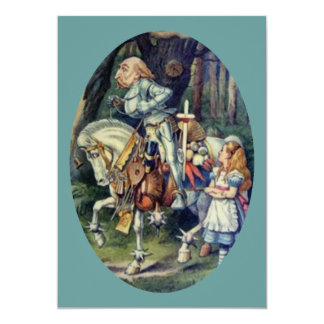 Alice & the Knight Full Color 5x7 Paper Invitation Card