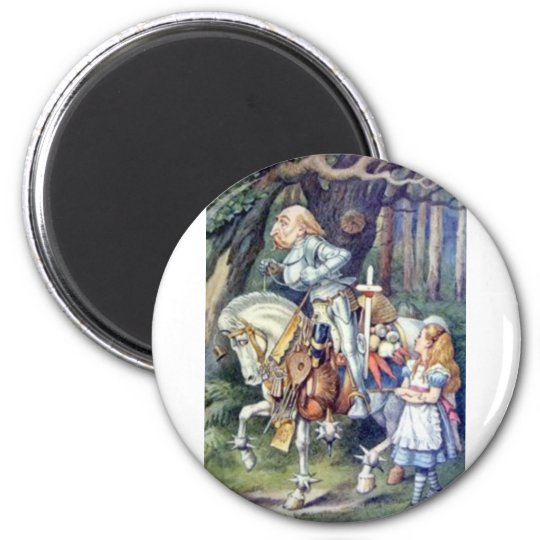 Alice & the Knight in Full Color Magnet