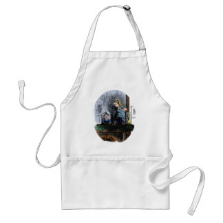 Alice & the Looking Glass Adult Apron