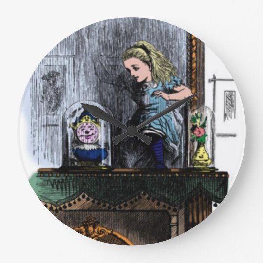 Alice & the Looking Glass Wall Clock