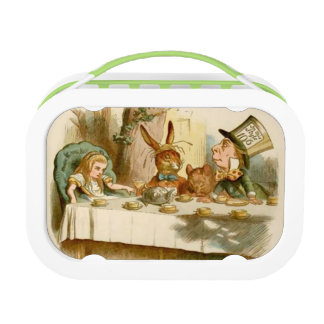 Alice & The Mad Tea Party - Green yubo Lunch Box