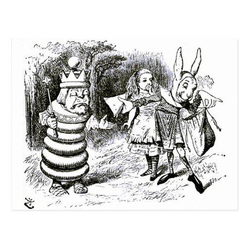 Alice & the Messenger Postcard