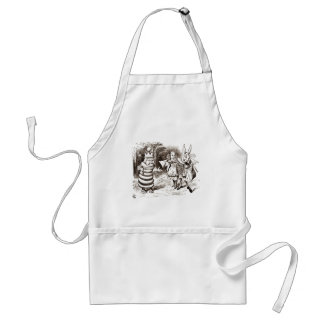 Alice & the Messenger Sepia Adult Apron