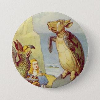 "Alice - The Mock Turtle - 3"" Button"