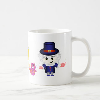 Alice, the Queen and the Mad Hatter Classic White Coffee Mug
