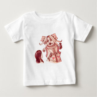 Alice & the Queen by Lewis Carroll Baby T-Shirt