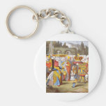 Alice & the Queen Color Keychain
