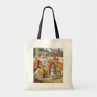 Alice & the Queen Color Tote Bag