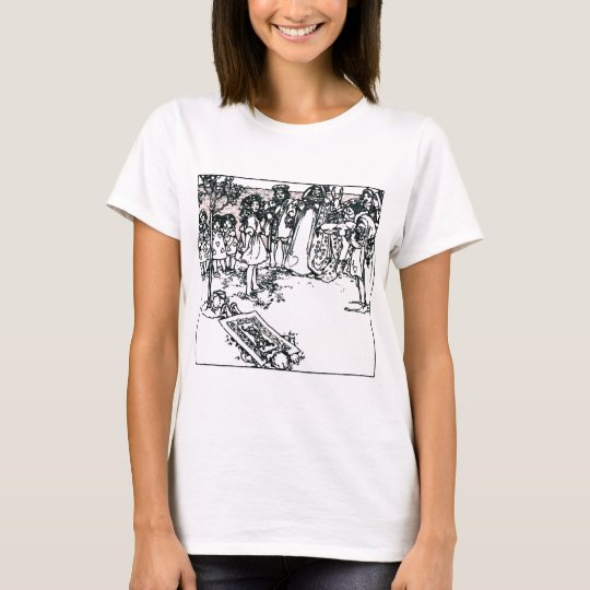 Alice & the Queen Vintage Illustration T-Shirt