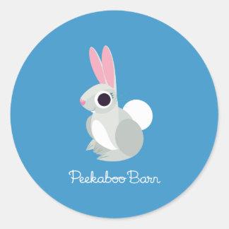 Alice the Rabbit Classic Round Sticker