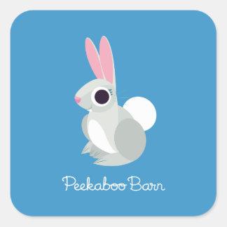 Alice the Rabbit Square Sticker
