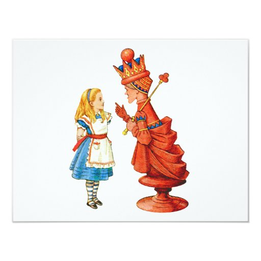 Alice & The Red Queen Card
