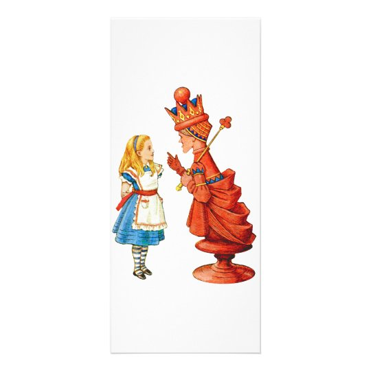 Alice & The Red Queen Rack Card