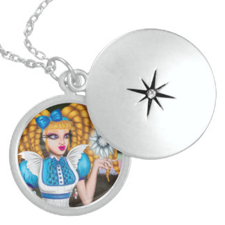 """Alice & The Sentient Star"" Sterling Necklace"