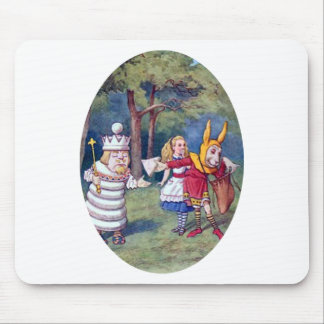 Alice & the White King Mouse Pad