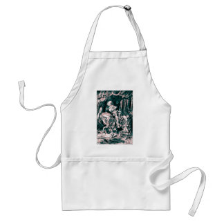 Alice & the White Knight Adult Apron