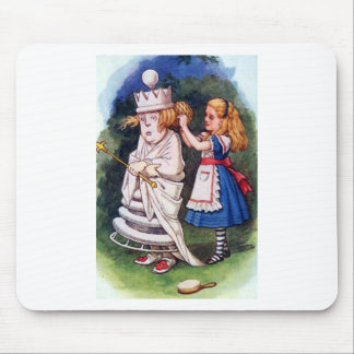 Alice & the White Queen Mouse Pad
