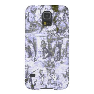 Alice & the Wonderland Gang Blue Tint Galaxy S5 Case