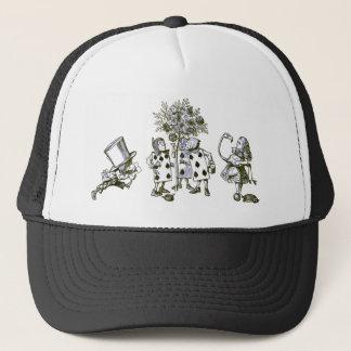 Alice & the Wonderland Gang in Blue Tint Trucker Hat