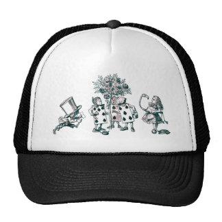 Alice & the Wonderland Gang in Pink Tint Trucker Hat