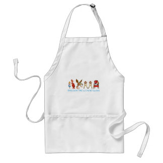 ALICE THROUGH TH ELOOKING GLASS APRON