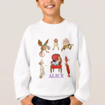 """Alice through the Looking Glass and Friends. Sweatshirt<br><div class=""""desc"""">Alice through the Looking Glass and Friends.</div>"""