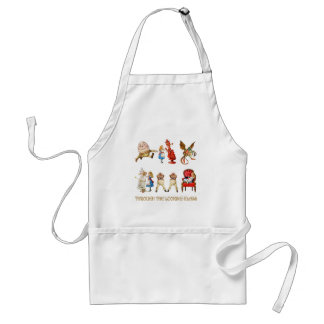 ALICE THROUGH THE LOOKING GLASS APRONS