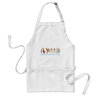 ALICE THROUGH THE LOOKING GLASS APRON