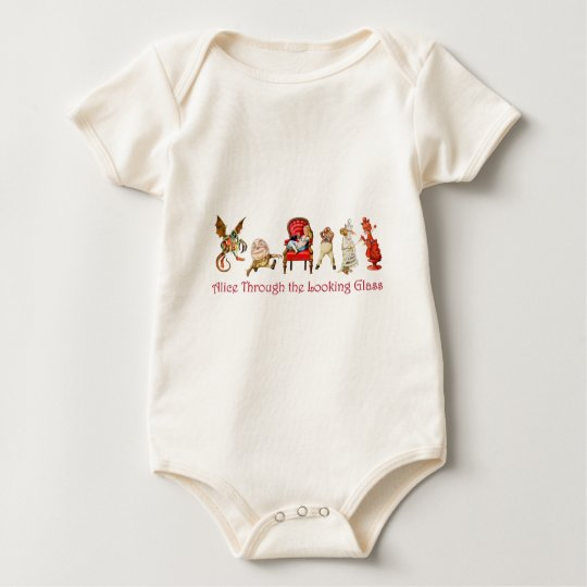 Alice Through The Looking Glass Baby Bodysuit