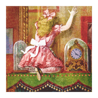 Alice Through the Looking Glass Canvas Print