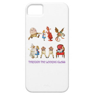 Alice Through the Looking Glass iPhone 5 Cover