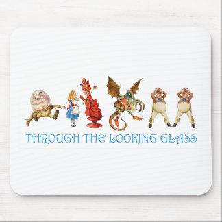 ALICE THROUGH THE LOOKING GLASS MOUSE PAD