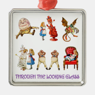 Alice Through the Looking Glass Ornament