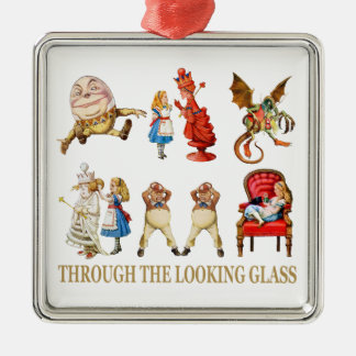 Alice Through the Looking Glass Ornaments