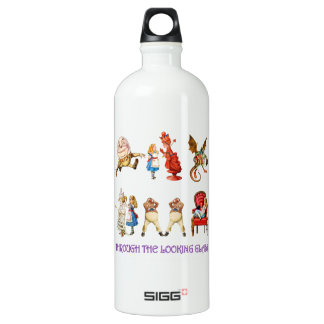 Alice Through the Looking Glass Water Bottle