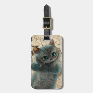 Alice Thru the Looking Glass | Cheshire Cat Grin Bag Tag