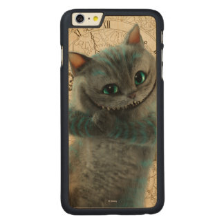 Alice Thru the Looking Glass | Cheshire Cat Grin Carved Maple iPhone 6 Plus Case