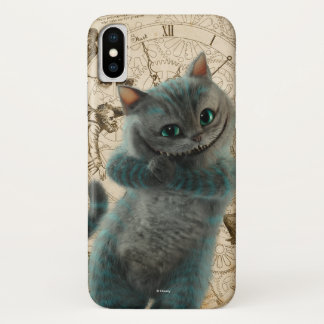 Alice Thru the Looking Glass | Cheshire Cat Grin iPhone X Case