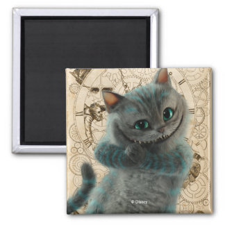 Alice Thru the Looking Glass | Cheshire Cat Grin Magnet