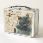 Alice Thru the Looking Glass | Cheshire Cat Grin Metal Lunch Box