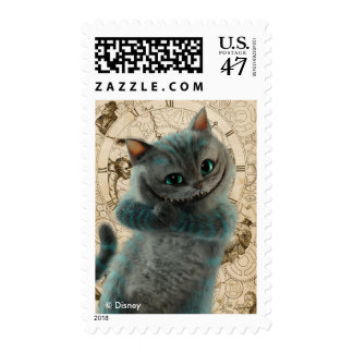 Alice Thru the Looking Glass | Cheshire Cat Grin Postage