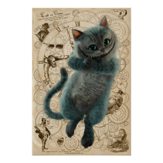 Alice Thru the Looking Glass   Cheshire Cat Grin Poster