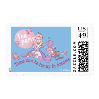 Alice | Time Can Be Funny In Dreams Postage