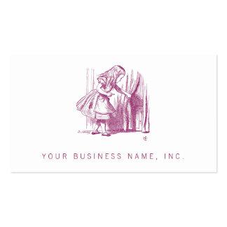 Alice Tiny Door Business Card