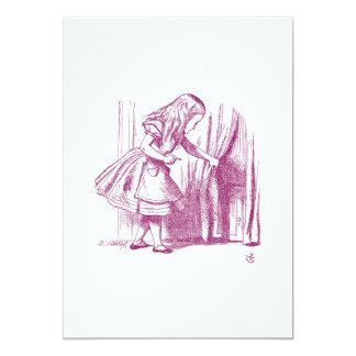 Alice Tiny Door Card