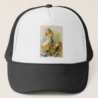 Alice Tips Jury Box at the Knave of Hearts Trial Trucker Hat