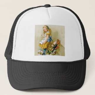 Alice Tips Over Jury Box in Knave of Hearts Trial. Trucker Hat